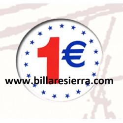 Pegatina 1€