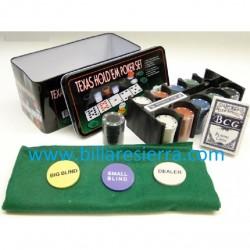 Maletín Poker Aluminio 500 pcs.