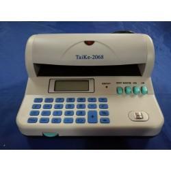 Detector billetes falsos + calculadora