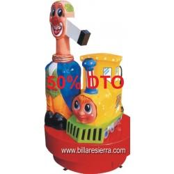 Infantil Locomotora con Barrera