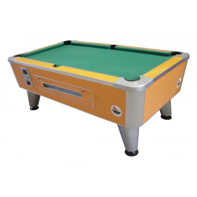 Table de billard pool sierra orange ext rieur billares for Table exterieur orange