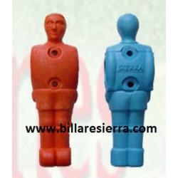Muñeco Futbolin con espaldilla plástico