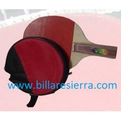 Paleta ping-pong con funda