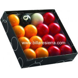 Juego bolas pool Casino 57/57 C.Verde