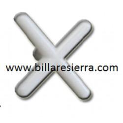 Rastrillo Nylon para taco por billar en X