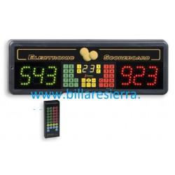 Contador digital mando distancia