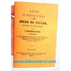"""Reglamento """"villar"""" año 1864"""