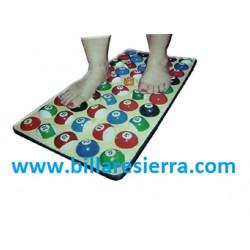 Masajeador de pies bolas billar