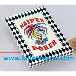 Baraja de Naipes Poker plastificada