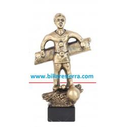 Trofeo futbolín figura jugador