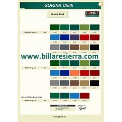 Paño de calidad GORINA (consultar)
