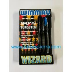 Juego Dardos Winmau Wizard 18g