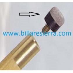 Suela taco rosca metálica 11-12mm
