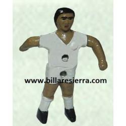 Muñeco futbolin Sierra brazo abierto pintado alum.