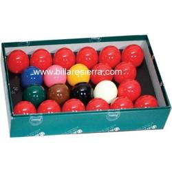Juego bolas Snooker