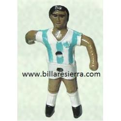 Muñeco Futbolin Sierra Pintado Blanco y Azul