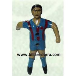 Muñeco Futbolin Sierra Pintado Azul y Rojo