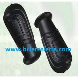 Puño de goma futbolin negro Castilla