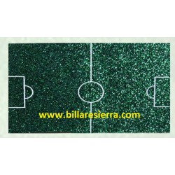 Campo futbolín poliester (fibra de vidrio)
