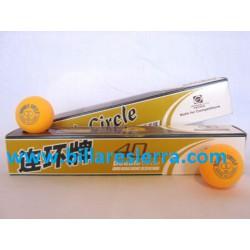 Pelota Ping Pong Caja 3 uds