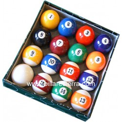 Juego bolas pool 57/57 C. Verde