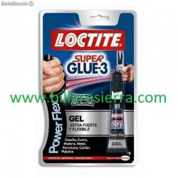 Loctite para suela taco Gel 3gr.