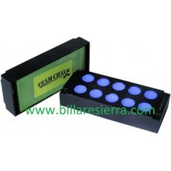 Tiza azul Team Chalk pastilla