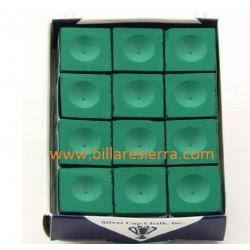 Tiza verde SilverCup 12 uds