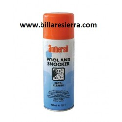 Spray limpiador paño billar 400ml