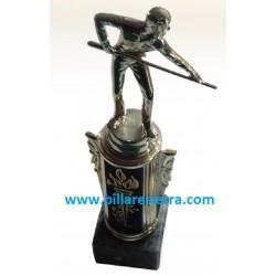 Trofeo billar figura 20 cm