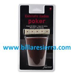 Cubilete y Dados Poker