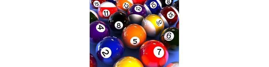 bolas billar, bolas carambola, bolas pool, bolas