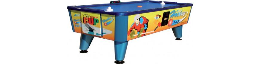 air hockeys, air play