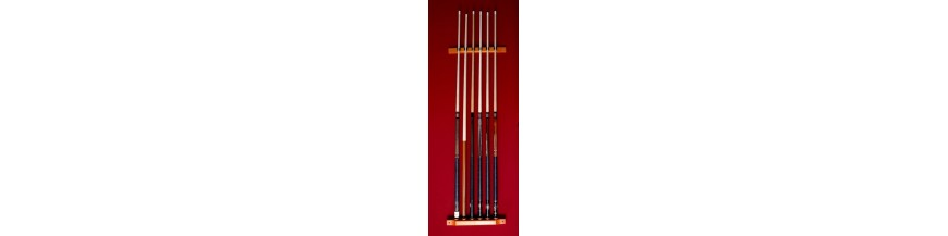 Cabinet pool cue