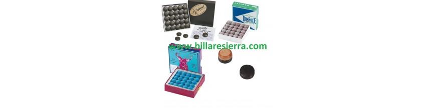 accesorios, bolas, bolas billar, bolas carambola, bolas pool, snooker, guantes, cepillo billar, suelas pegar