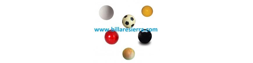 Bolas de futbolin