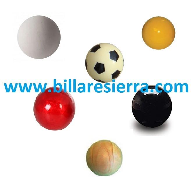 Foosball table balls