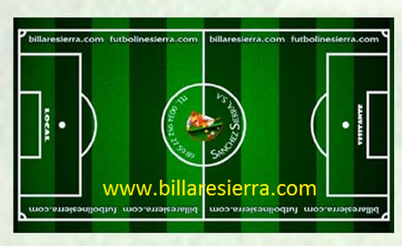 Foosball Table Playing Field